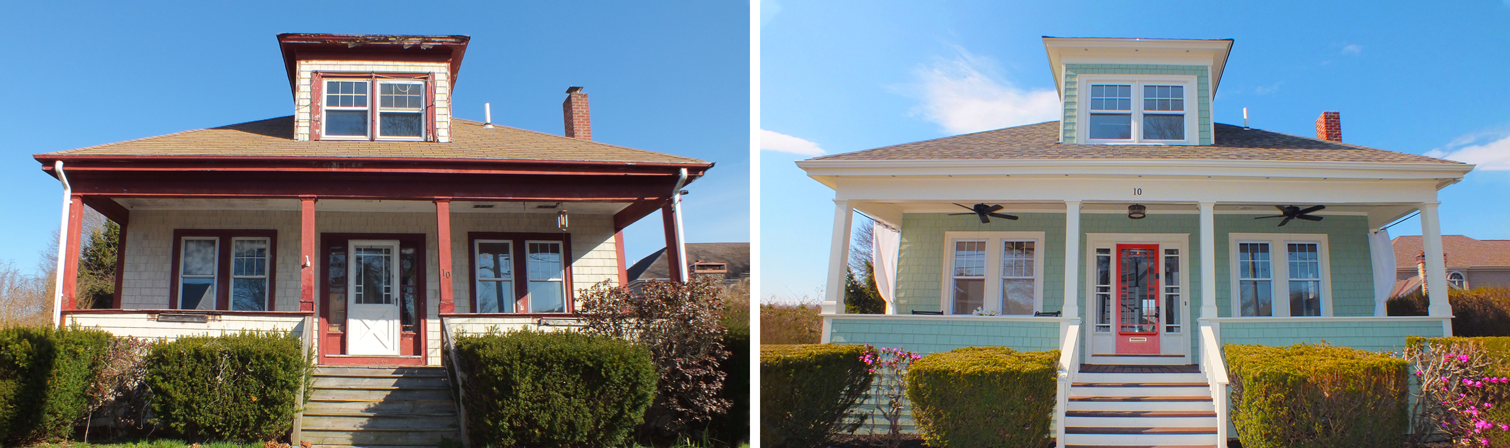 Bungalow Renovation Before and After