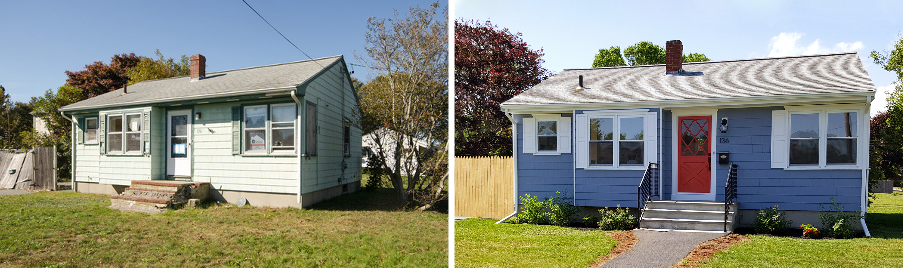 Charming Ranch Makeover Before and After